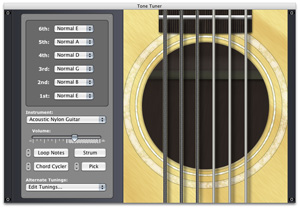 Integrated software tools for guitarists, bassists, and other musicians.